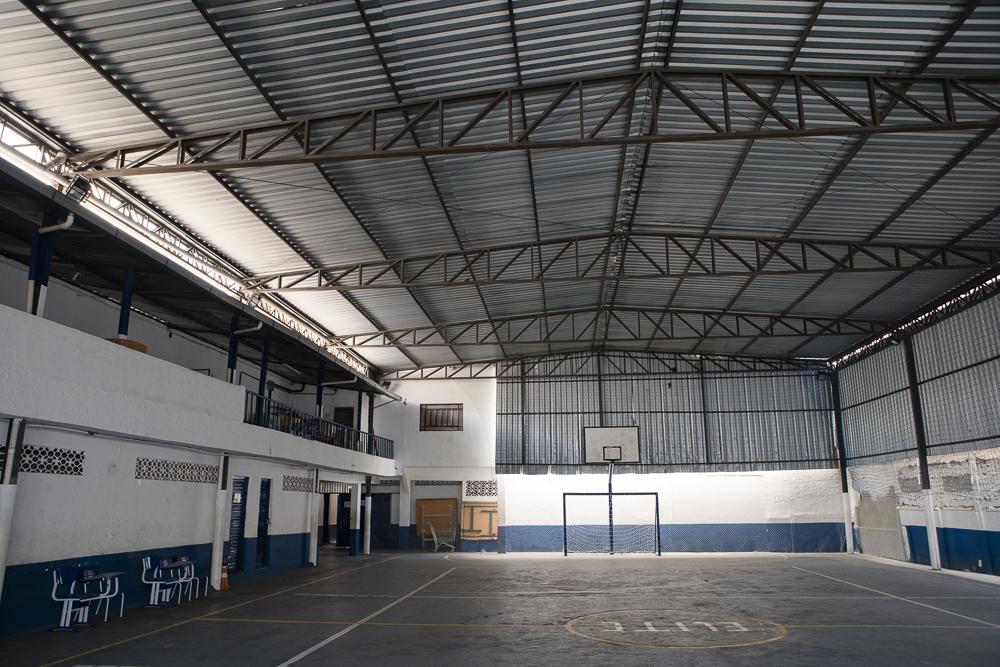 Quadra poliesportiva da unidade Elite Bangu