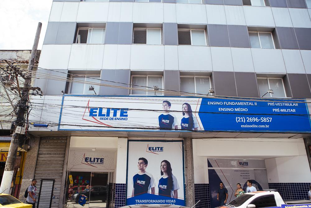 Fachada Elite São João de Meriti