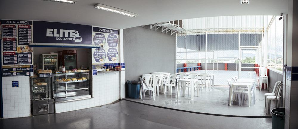 Área interna do pátio da unidade Elite Campo Grande I