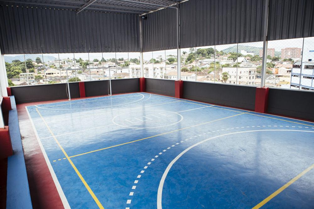 Quadra poliesportiva da unidade Elite Campo Grande I