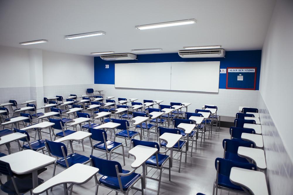 Sala de aula da unidade Elite Campo Grande I