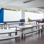Área interna do pátio da unidade Elite Campo Grande II