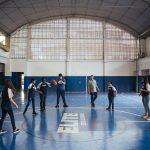 Quadra poliesportiva da unidade Elite Iguaçuano