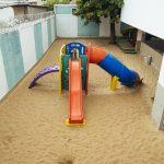 Parquinho de areia da unidade Elite Iguaçuano