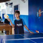 Ping pong no recreio