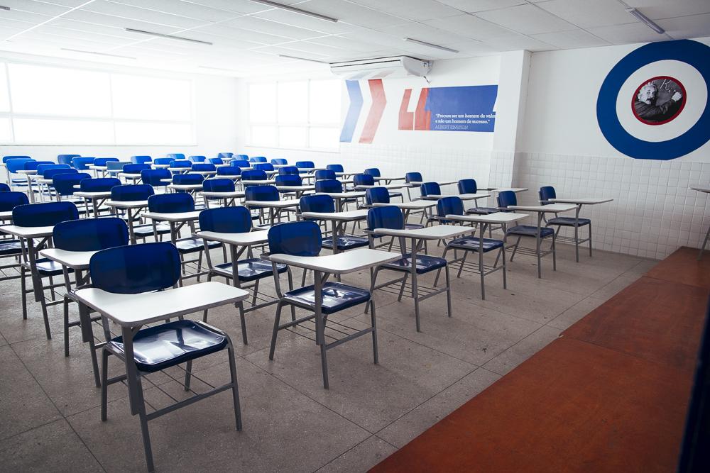 Elite Irajá sala de aula