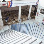 Área interna com escada Elite Realengo