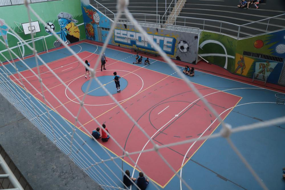 Quadra poliesportiva do Elite Guará
