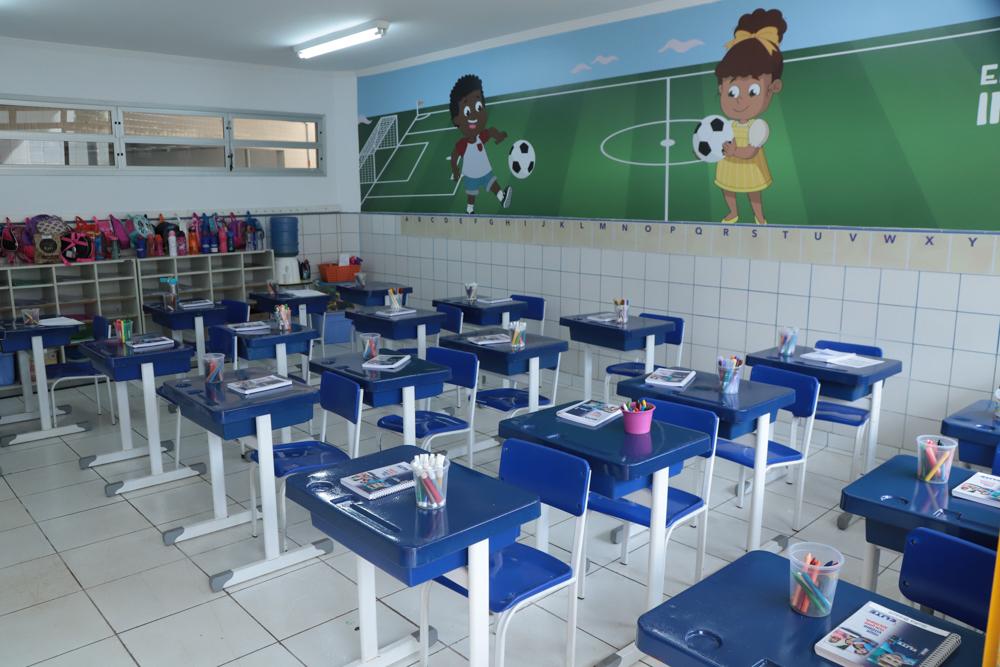 Sala de aula do Elite Guará