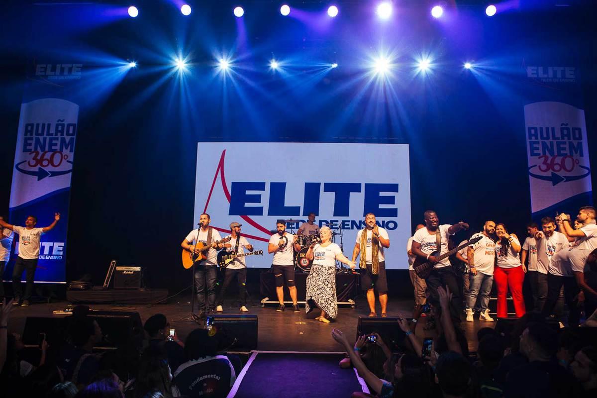 banda de professores do Elite