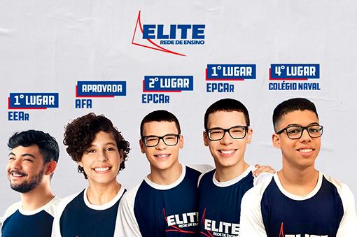 Ensino Elite -Diferenciais do Elite - Aprovações